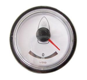En oferta Reloj VDO Blanco Indicador Angulo de Timon