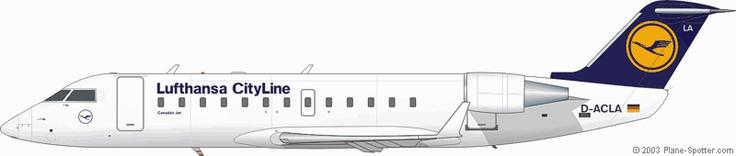 Lufthansa CityLine / CRJ-100LR D-ACLA (c/n.7004)