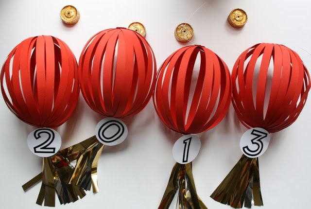 Chinese New Year Lanterns DIY | foliesdubonheur.com
