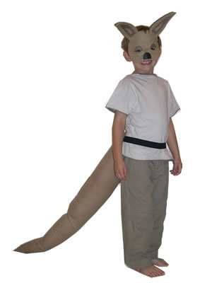 Josephine Wants to Dance Kangaroo Mask & Tail « Dressups by Tina                                                                                                                                                     More