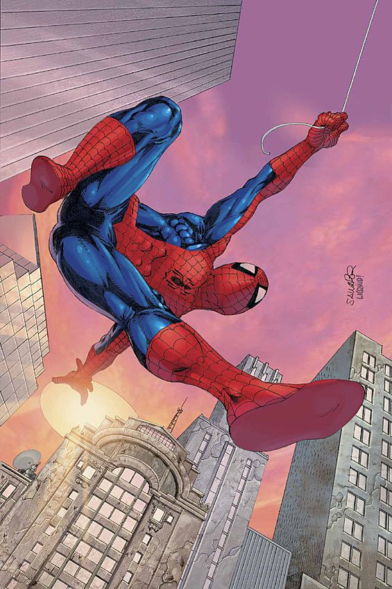 SPIDER-MAN UNLIMITED #9 by Salvador Larroca