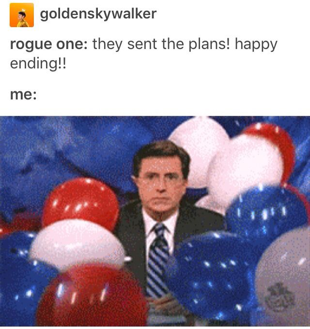 Soooo happy :)))))) *makes an ocean with tears* Rogue One, Star Wars