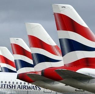 British Airways tails