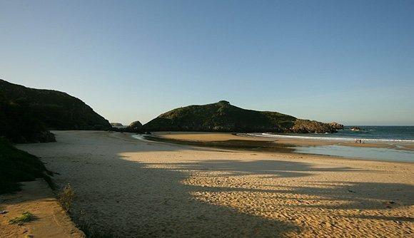 Playa de Barro (llanes). Preciosa playa en Asturias. La entrada es un sitio espectacular.