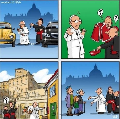 Pope Francis is the best!