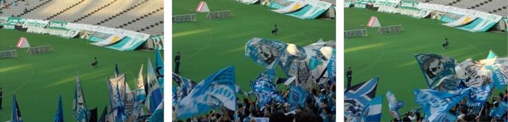 Tokyo Verdy gegen Yokohama FC 04.11.2012  J2第41節 東京ヴェルディvs横浜FC  横浜FCゴール裏