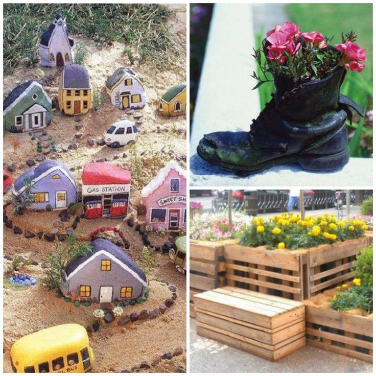 Decorațiuni handmade inedite pentru grădină
