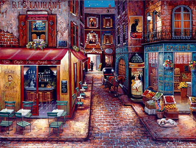 Cafe Van Gogh by John P. O'Brien
