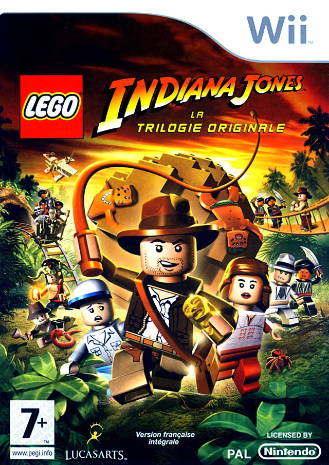Indiana Jones Lego video game. Yes I live Lego video games.  ~Rick.