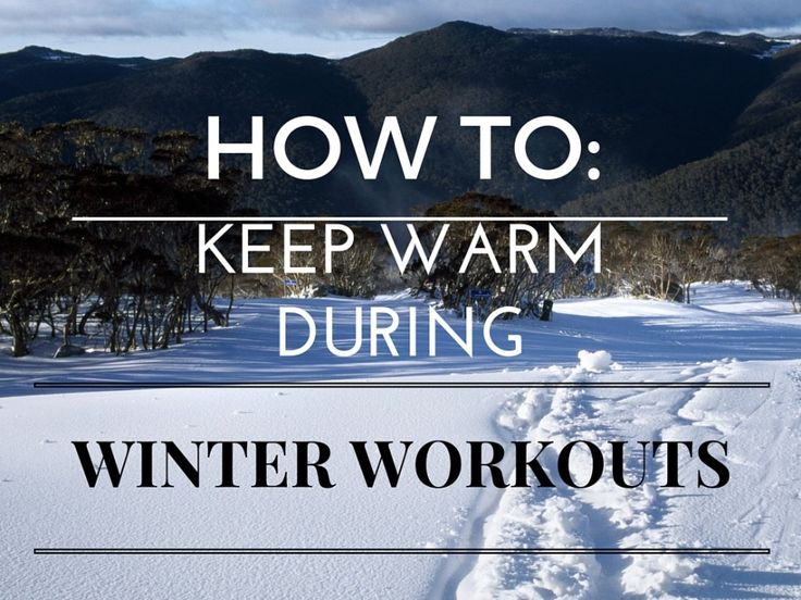 If you enjoy working out in the winter you need to take certain precautions so you don't end up sick - or worse! Check out these tips for winter workouts.
