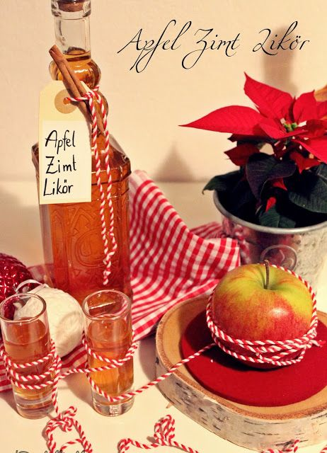 Apfel Zimt Likör