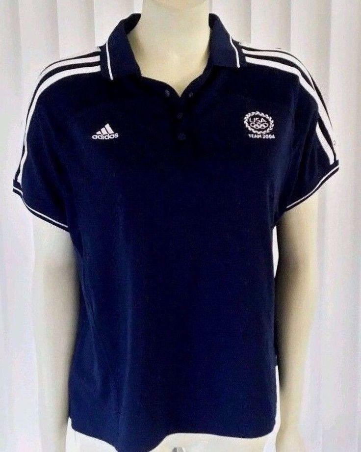 U.S.A olympic 2004 Adidas TEAM USA (Youth XL) climacool navy. 182