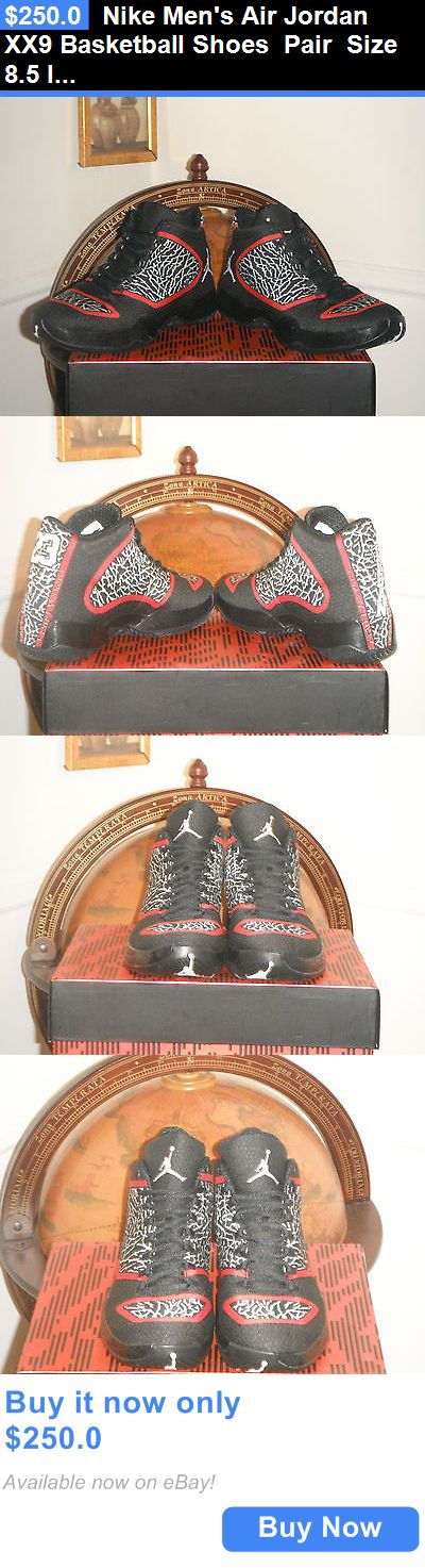Basketball: Nike Mens Air Jordan Xx9 Basketball Shoes Pair Size 8.5 Infrared (695515-023) BUY IT NOW ONLY: $250.0