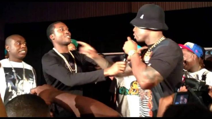 Busted! Meek Mill Caught Stealing 50 Cent & G-Unit's Song On New Album