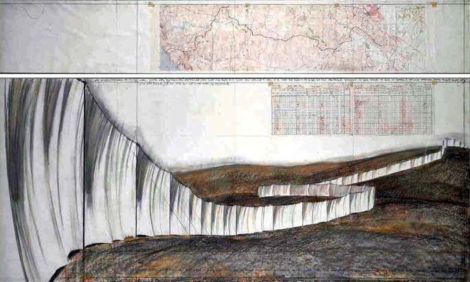 Running Fence, la gran valla del land art   El baúl de Josete