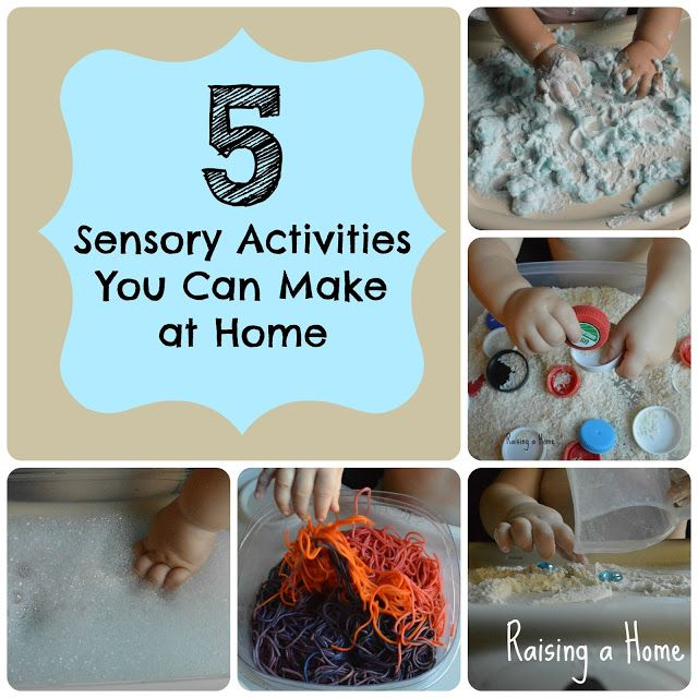 5 Sensory Activities You Can Make at Home