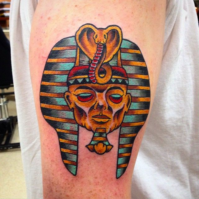 Egyptian Pharaoh Hound Tattoo
