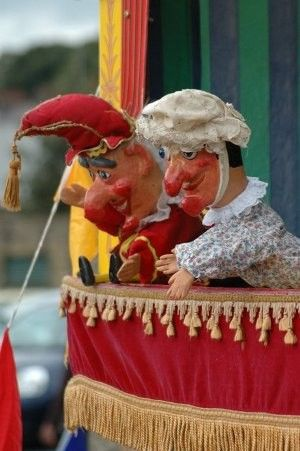 Punch & Judy Show.