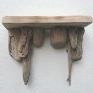 Driftwood shelf, Drift Wood shelf, Driftwood Wall Shelves, rustic bathroom shelf