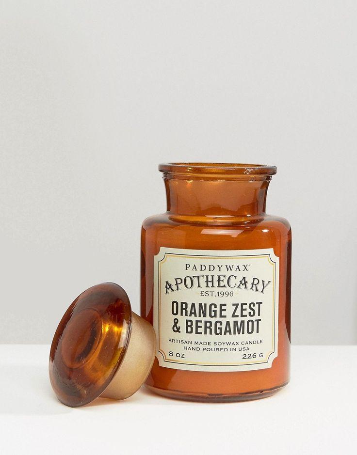Image 1 - Paddywax - Apothecary - Bougie 8oz - Zeste d'orange et bergamote