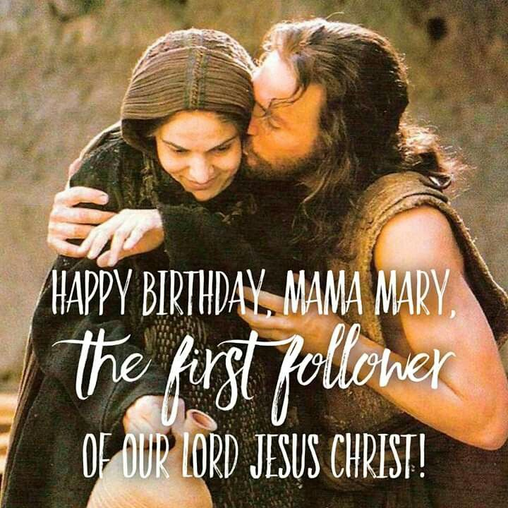 Although Mama Mary's birthday had already passed, I just