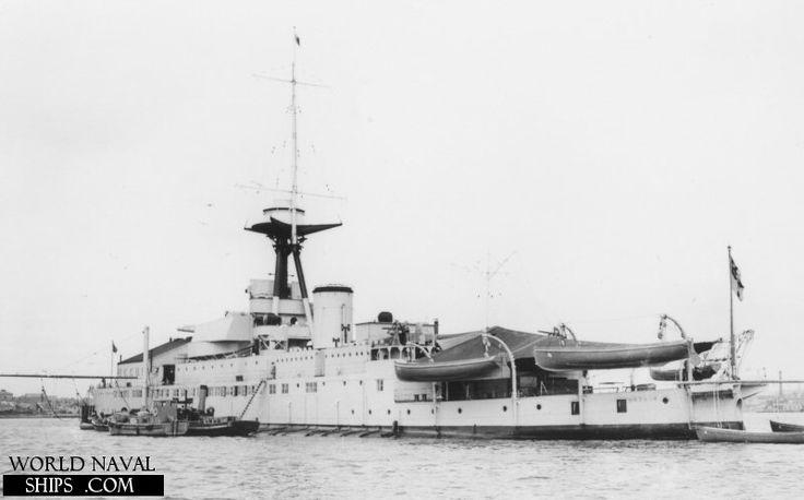 HMS Erebus, 1934.