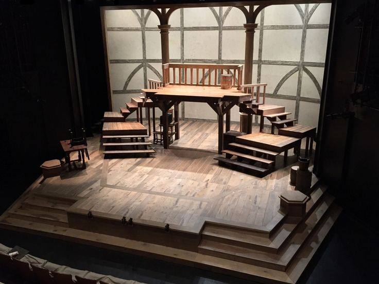 Equivocation. Shakespeare Theatre of New Jersey. Scenic design by Michael Schweikardt. 2015