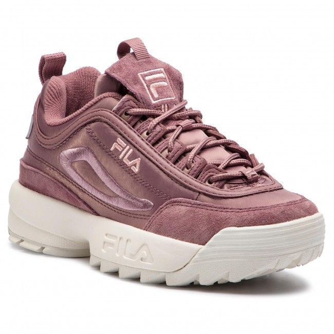 Sneakersy FILA Disruptor Satin Low Wmn 1010437.70W Ash