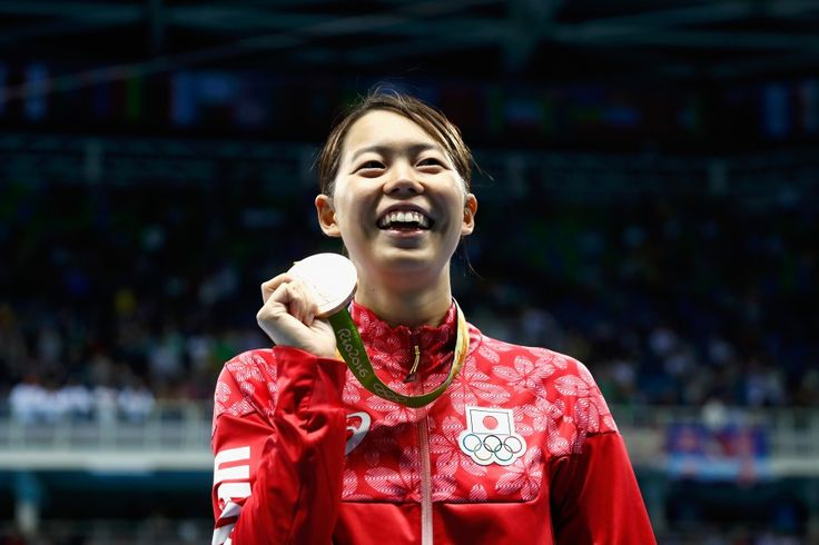 リオ五輪第5日。水泳。女子200mバタフライで星奈津美が銅メダル=ブラジル・リオデジャネイ