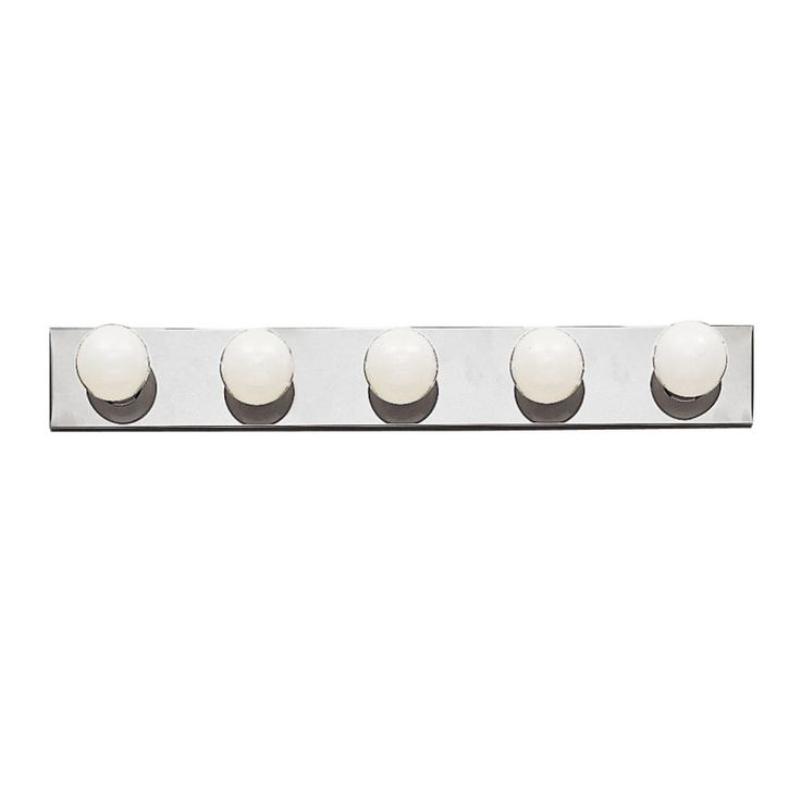 """Kichler 625 Bath & Vanity 30"""" Wide 5-Bulb Bathroom Lighting Fixture Brushed Nickel Indoor Lighting Bathroom Fixtures Vanity Strip"""