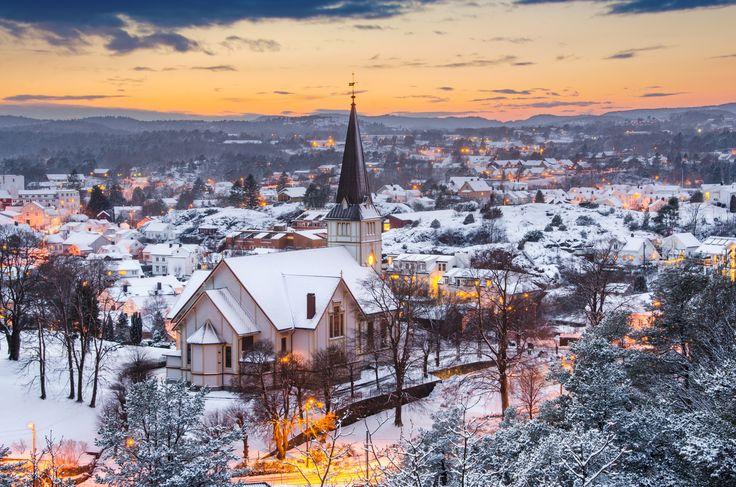 Snowy Grimstad by César Asensio on 500px