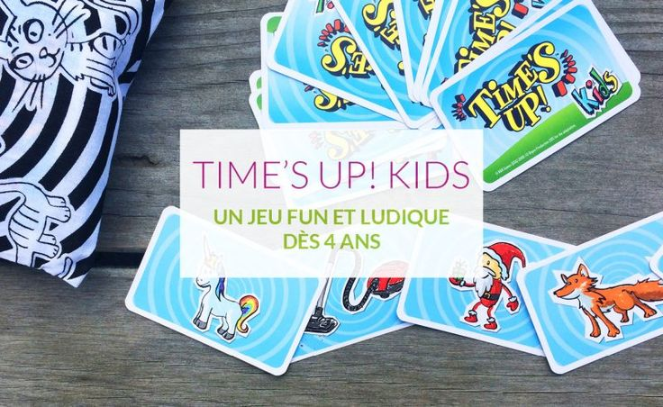 Time's Up Kids | www.loulou-et-chipette.fr