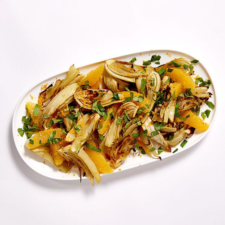 Roasted Fennel with Orange and Basil | Healthy Recipes