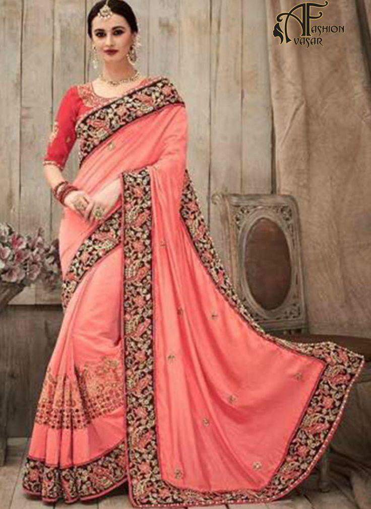 Bridal Silk Designer Sarees Online Shopping Cash On Delivery