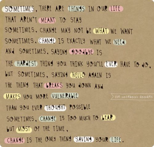 qoutes about the alphabet | change, cute, love, quote, words - image