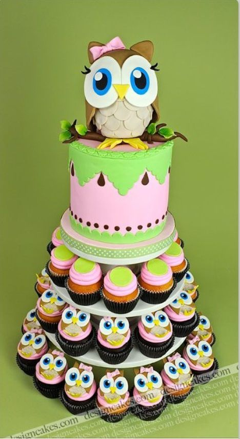 Owl cake!!