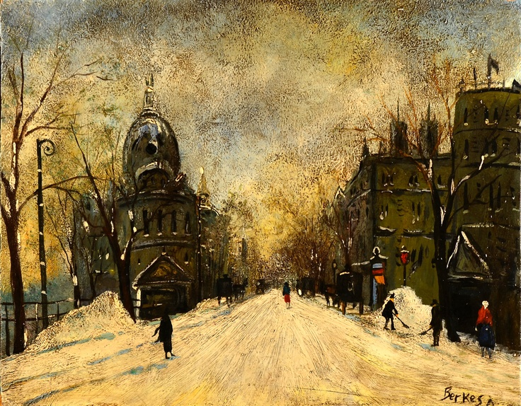 Antal Berkes (1874-1938 ) – IARNA LA BUDAPESTA