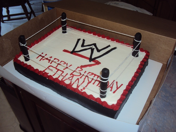 Wwe Cake Misc Party Ideas Pinterest Wwe Grooms And