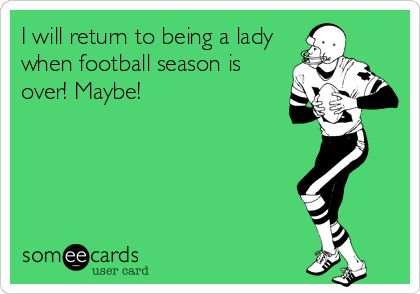 Image result for women during football season