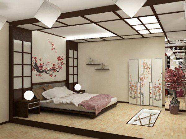 фото спален в японском стиле