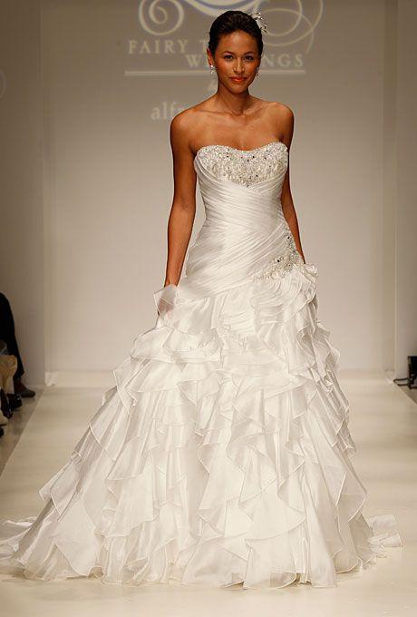 Brides: Disney Fairy Tale Weddings by Alfred Angelo - Fall 2012 :