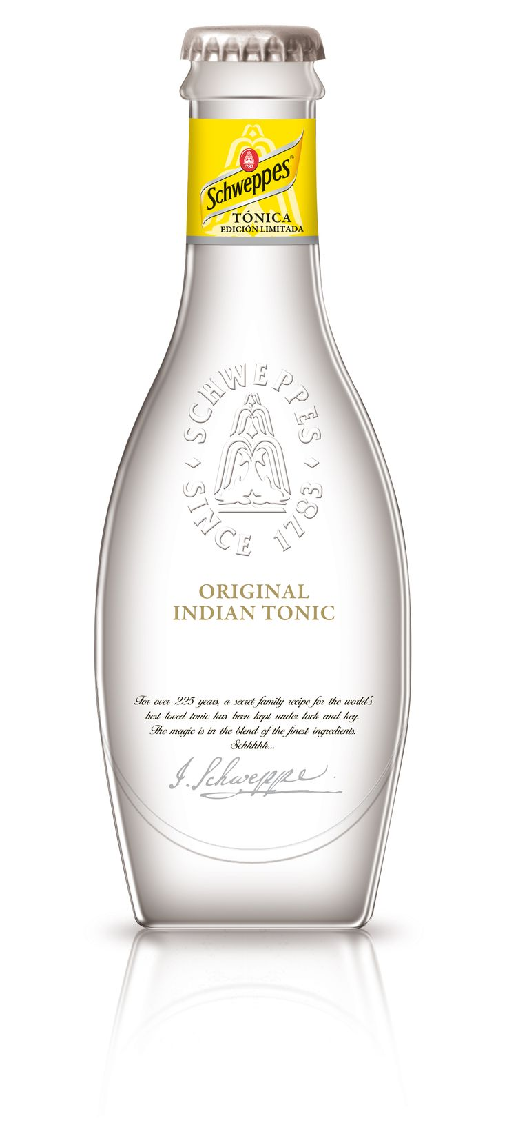 Schweppes Original Indian Tonic - now just add gin.