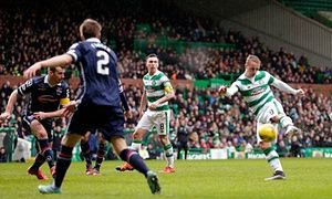Leigh Griffiths goal sparks victory for Celtic against Ross County