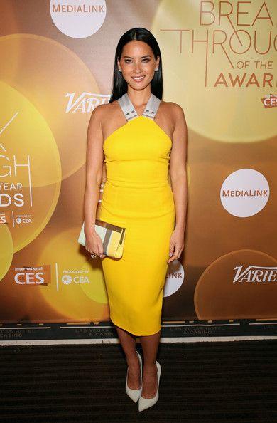 Olivia Munn - Backstage at the Variety Breakthrough Awards