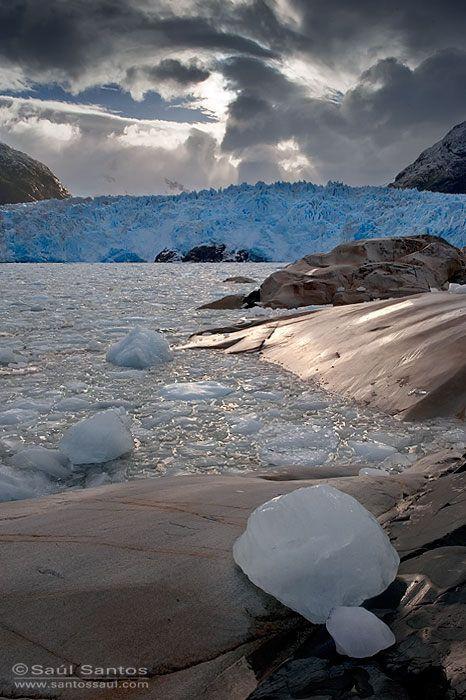 Glaciar Amalia, Patagonia Chilena