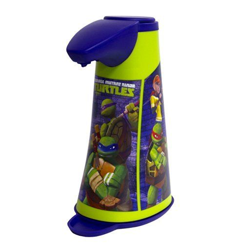 Teenage Mutant Ninja Turtles Automatic Soap Dispenser, http://www.amazon.com/dp/B00KOYVK6U/ref=cm_sw_r_pi_awdm_RDsFub1ZD5AP0