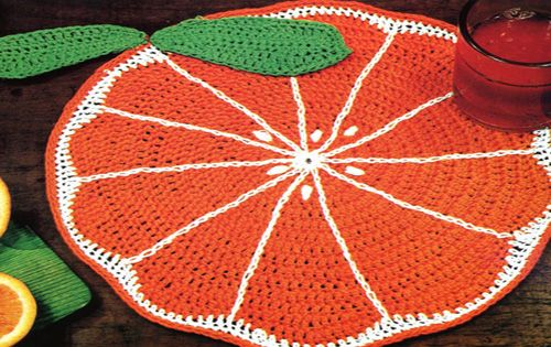 Crochet Table Mats pic5
