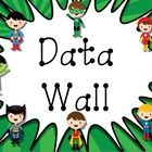 Mix and match the following pages to complete your Data Wall.   Pages Provided: AR Goals AM Goals Math Facts Spelling Goals Fluency DIBELS STAR Rea...