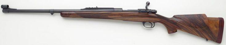 George Hoenig custom Winchester Model 70 .375 H&H Magnum.