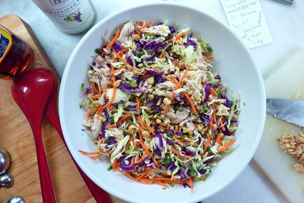 """DALS """"redemption salad"""" - soooo yummy and actually a perfect way to use up things I always have on hand (if not in surplus)"""